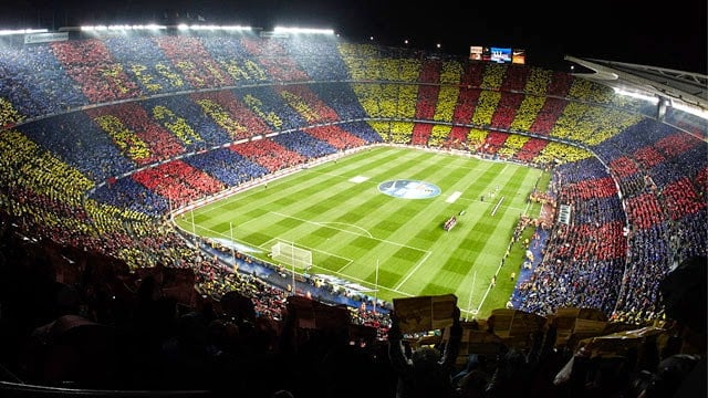 Estadio de Barcelona - Camp Nou