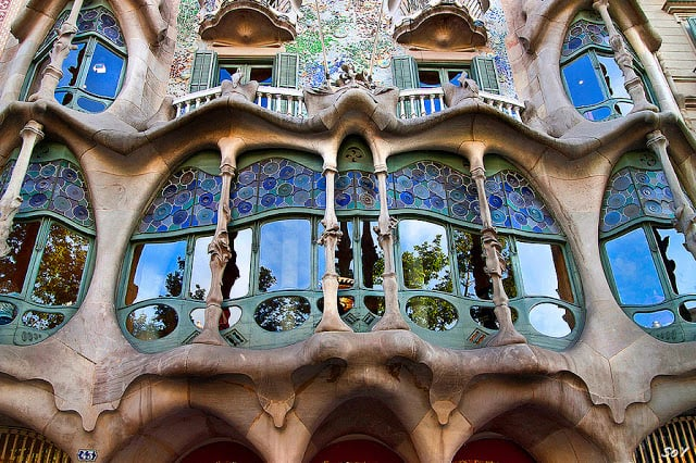 Ruta de Gaudí - Casa Batlló en Barcelona