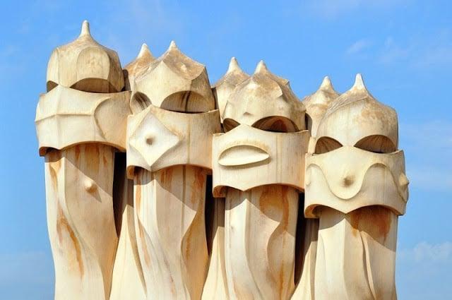 Elementos arquitectónicos de La Pedrera (Casa Milà)