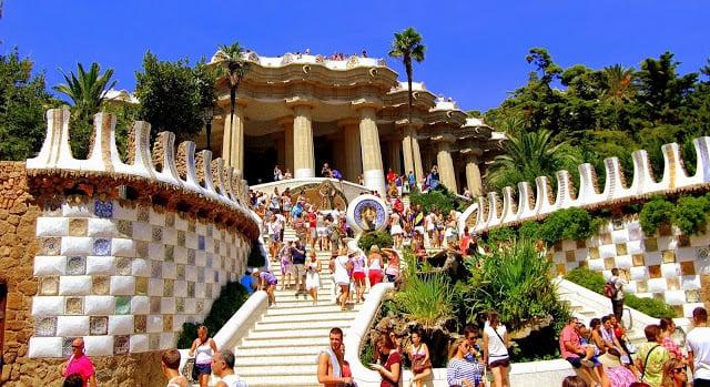 Parc Güell en Barcelona