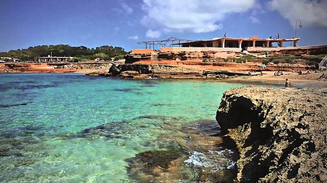 Playa Cala Conta en Ibiza