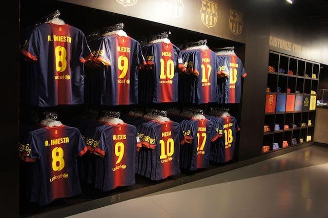 Exposición del Museo del Barcelona FC