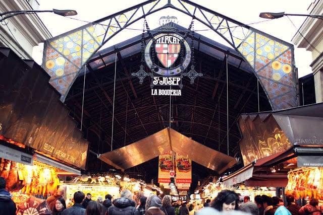 Paseo por el Mercado de Barcelona - La Boquería