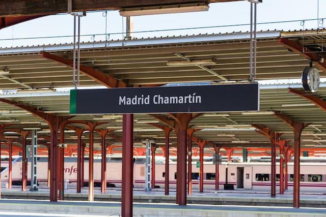 Estación de Madrid - Chamartín
