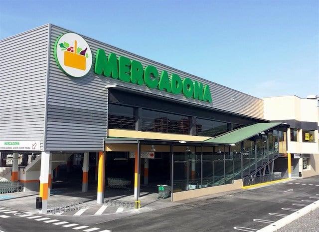 Supermercado Mercadona en Barcelona