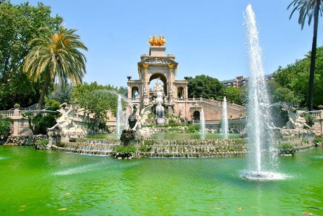 Lago del Parque de la Ciutadella