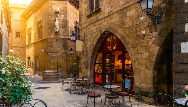 Bar en el Barrio Gótico
