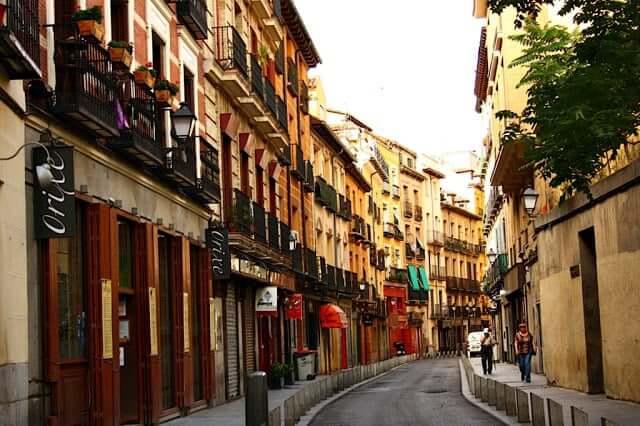 La Latina en Madrid