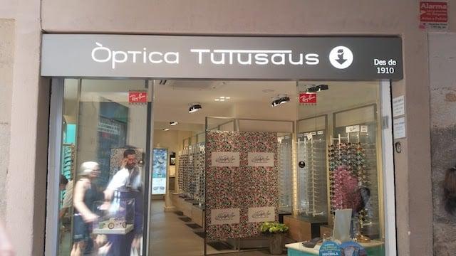 ÓpticaTutusaus Outlet en Barcelona