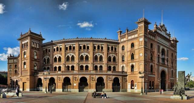 Plaza de Toros en Madrid