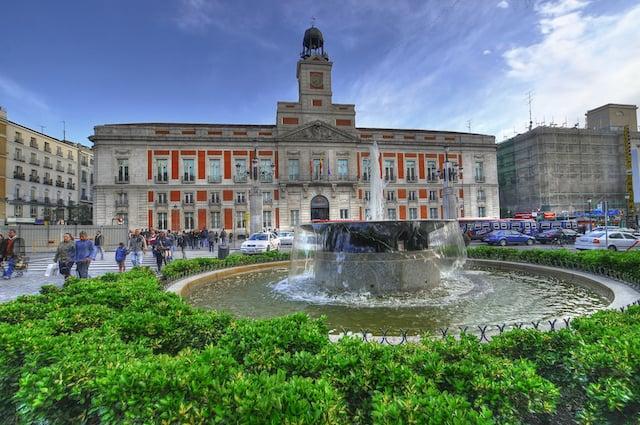 Región Puerta del Sol en Madrid