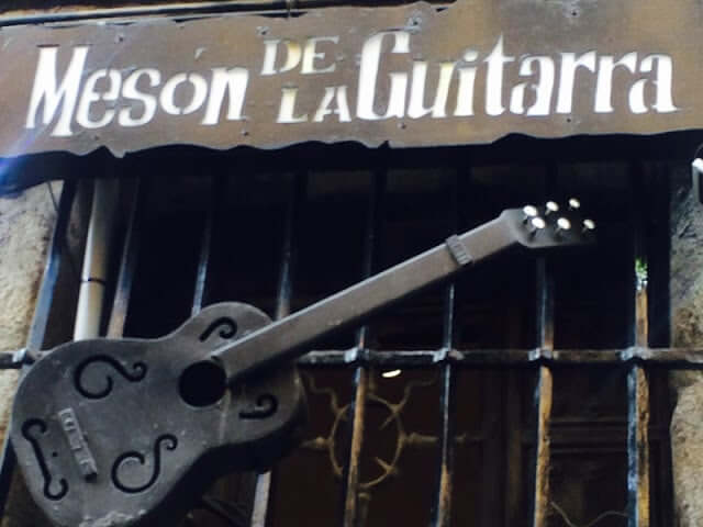 Bar Mesón de la Guitarra en Madrid
