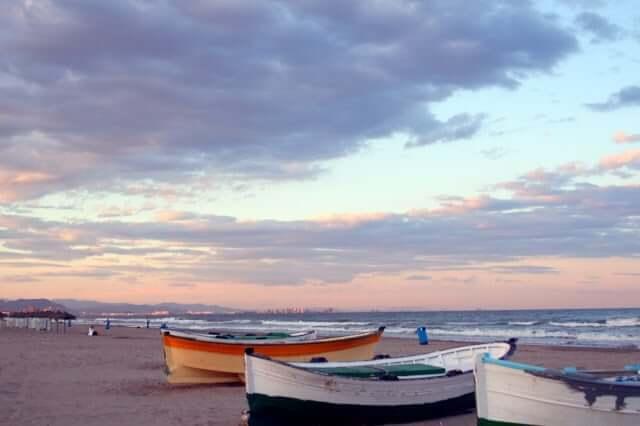 Playa El Cabanyal-Arenas en Valencia