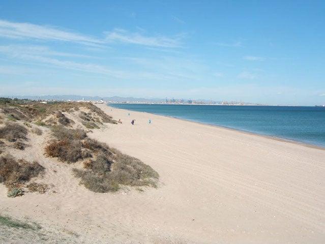 Playas en Valencia - El Saler