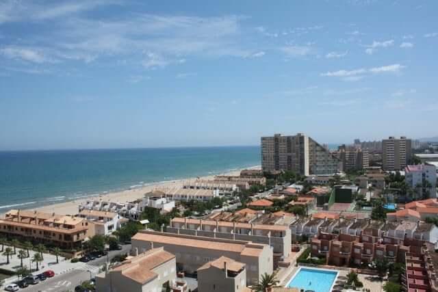 Playa Recatí-Perellonet en Valencia