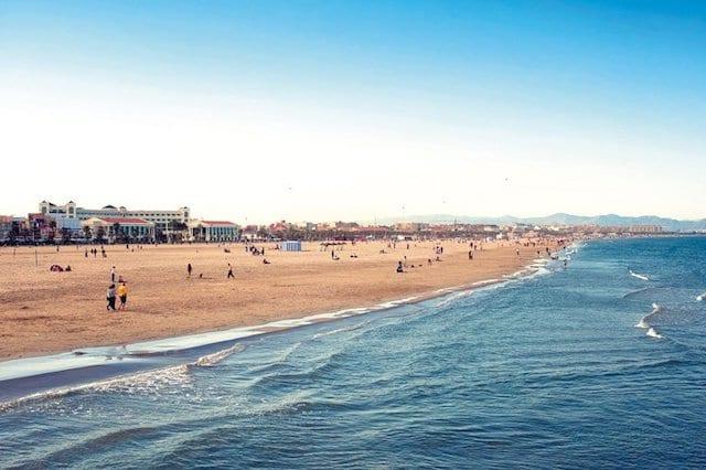 Ir a la playa en Valencia