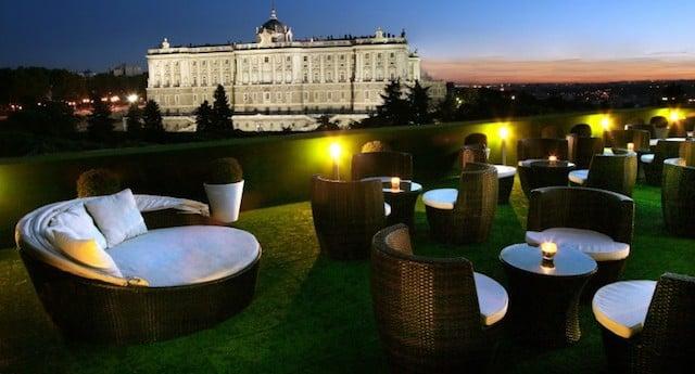 Bar romántico en Madrid