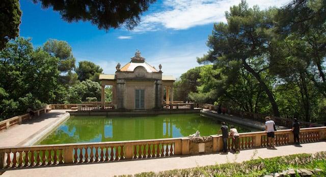 Jardines del Laberint d'Horta en Barcelona