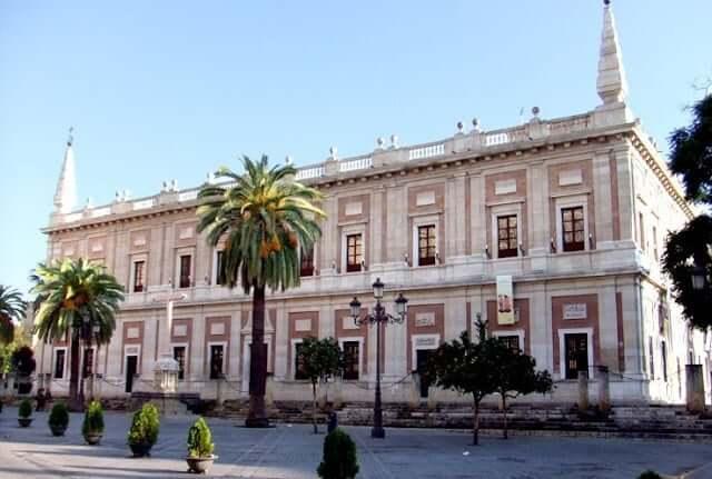 Real Archivo general de las Indias en Sevilla