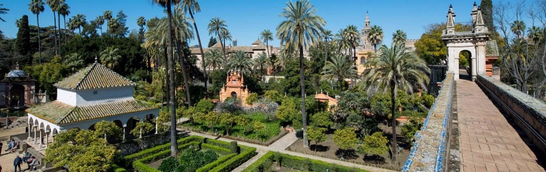 Espacio de los Reales Alcázares de Sevilla
