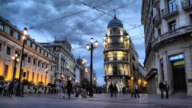 La noche en Sevilla