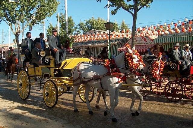 Carruaje en la Feria de Sevilla