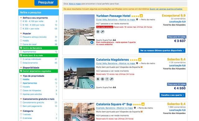 Cómo encontrar hoteles bien ubicados y con buena puntuación