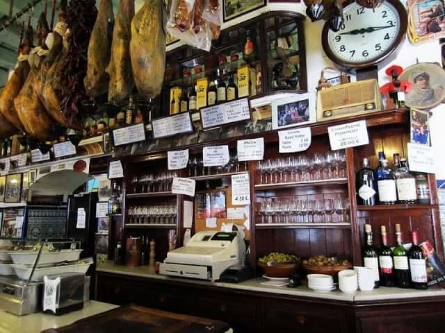 Bar Las Teresas en Sevilla