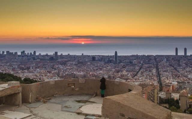 Bunker del Carmel en Barcelona