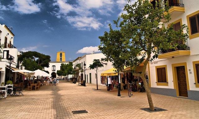 Ciudad de Santa Gertrudis en Ibiza