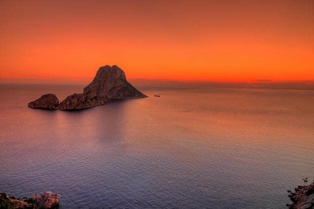 Isla de Es Vedrá en Ibiza
