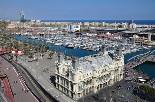 Mirador de Colon en Barcelona