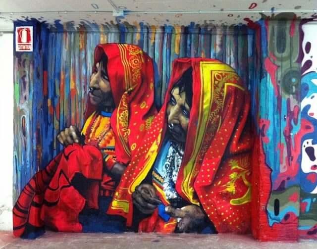 Grafitis Poblenou