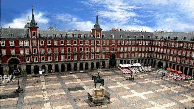Plaza Mayor en Madrid
