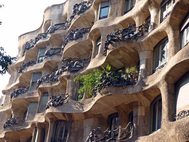 Casa Milà en Barcelona