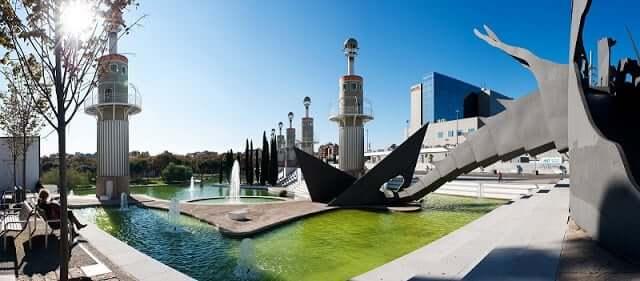 Parc de l'Espanya Industrial en Barcelona