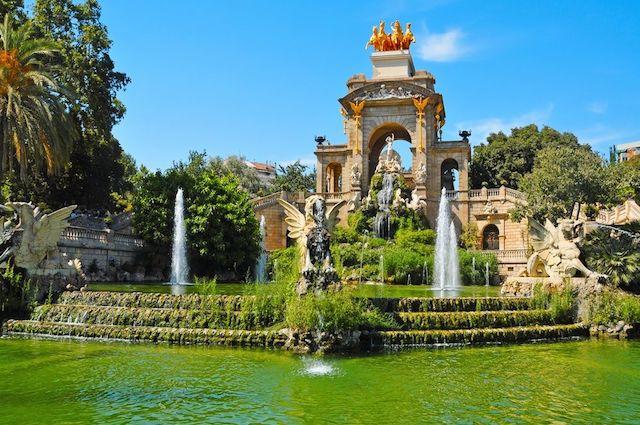 Paseo por los parques de Barcelona - Ciutadella