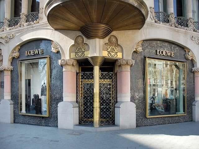 Marca Loewe en Barcelona