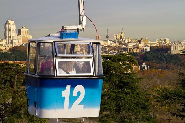 Teleférico en Madrid