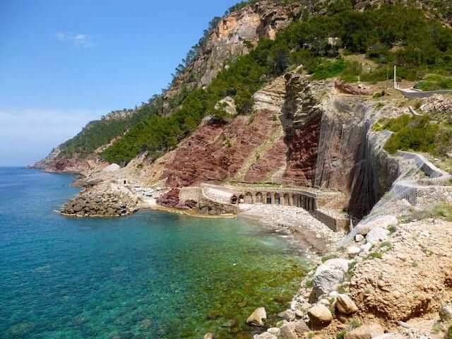 Región Oeste de Mallorca - Cala de Estellencs