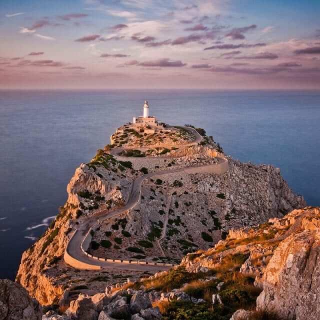 Farol del Cap de Formentor en Mallorca