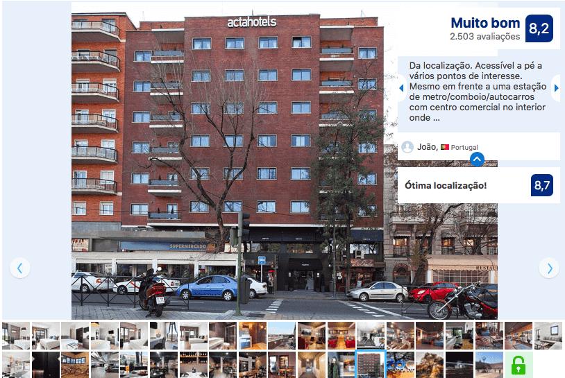 Hotel Acta Madfor en Madrid