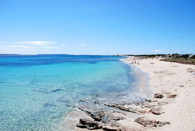 Playa en Ibiza