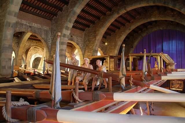Museo Marítim en Barcelona