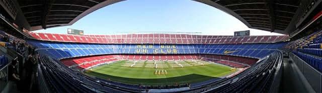 Ver un partido de fútbol en Barcelona