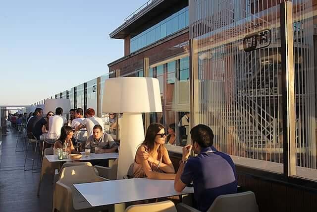 Cafetería del Corte Ingles de Callao - Madrid