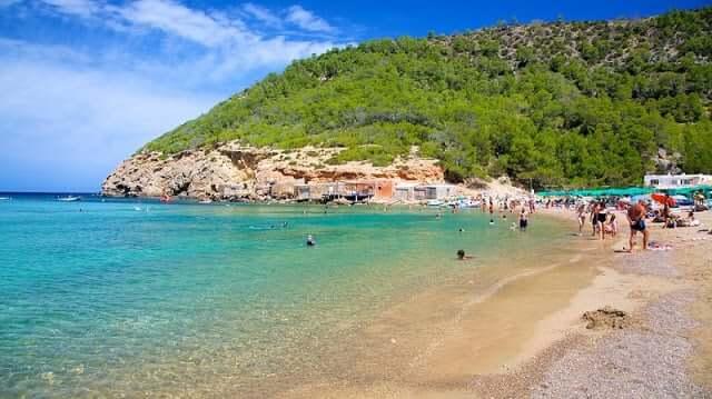 Cala Benirràs en Ibiza