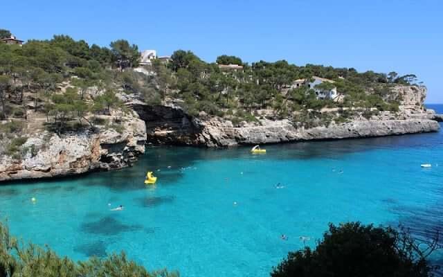 Región este y sur de Mallorca - Cala Figuera