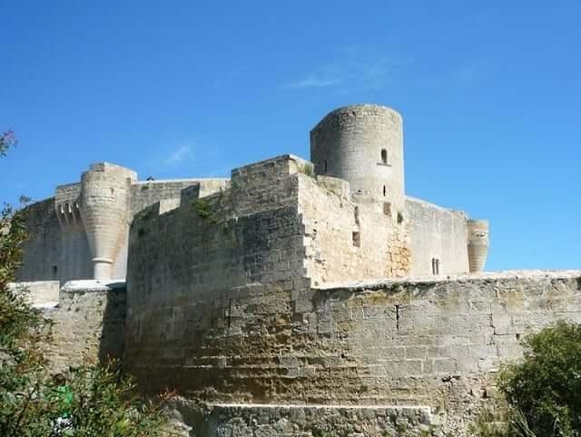 Castillo de Bellver en Mayorca