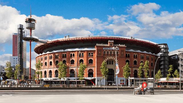 Entrada Las Arenas en Barcelona